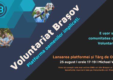 Lansare VoluntarBv.ro + Târg de ONG-uri